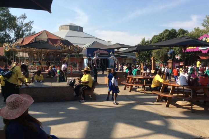 Relaxing in Durban